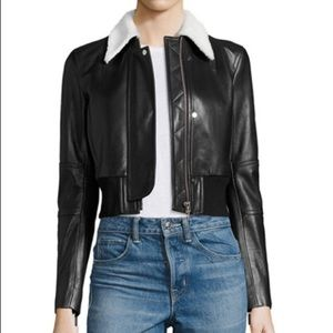 Helmut lang brand new leather jacket